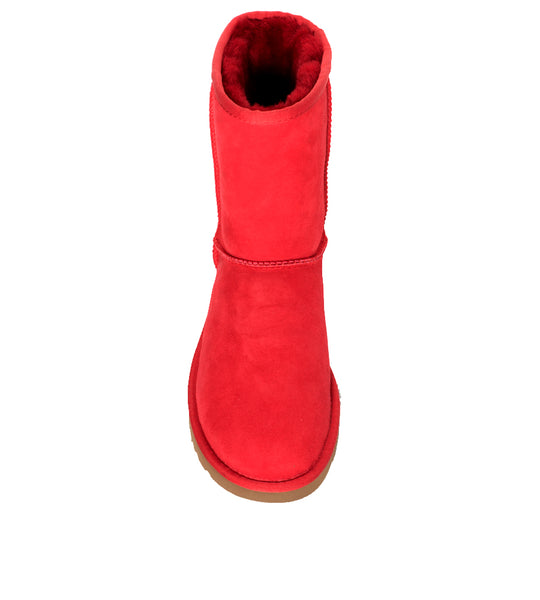 Classic Short Boot Red