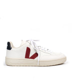 V-12 Leather Extra White Marsala Nautico Sneaker