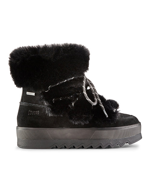 Vanity Suede Winter Boot - Black