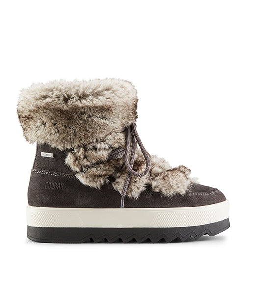 Vanity Suede Winter Boot - Pewter