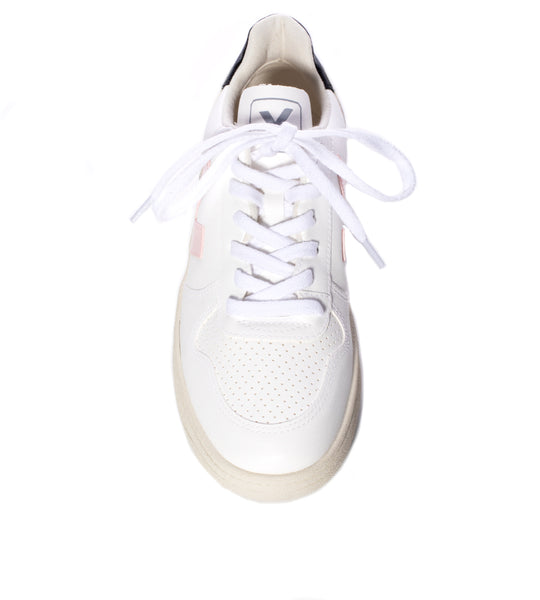 V-10 Vegan White Petale Black
