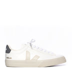 Veja Campo White and Navy Sneaker - TheSeptember.com