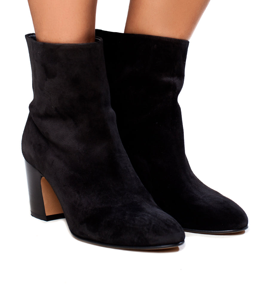 Vince Women's Dryden Suede High Block Heel Booties Real Online Outlet Choice Discount Official fe9L4
