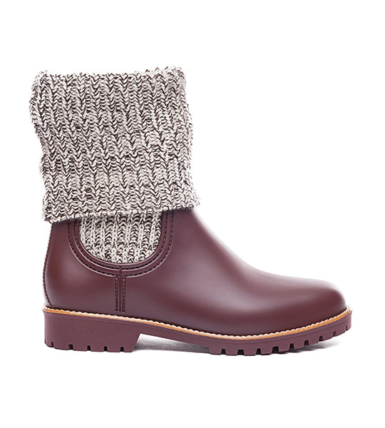 Zurich Rubber Boot Chocolate