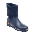 Zurich Rubber Boot Navy