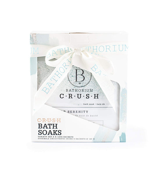Six Pack CRUSH Bath Gift Set