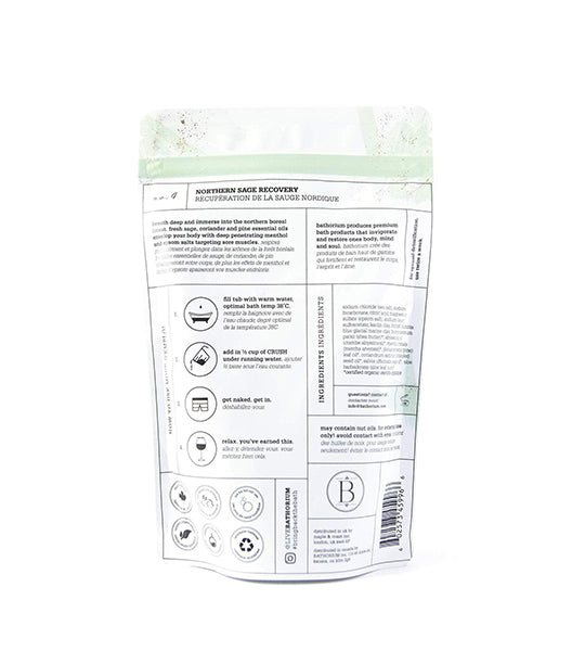 Northern Sage Recovery CRUSH Bath Soak