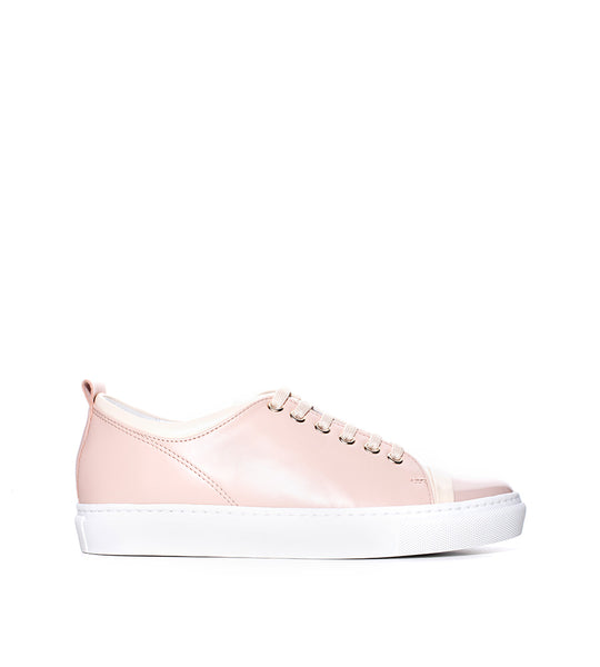 Leather Sneaker Powder Pink