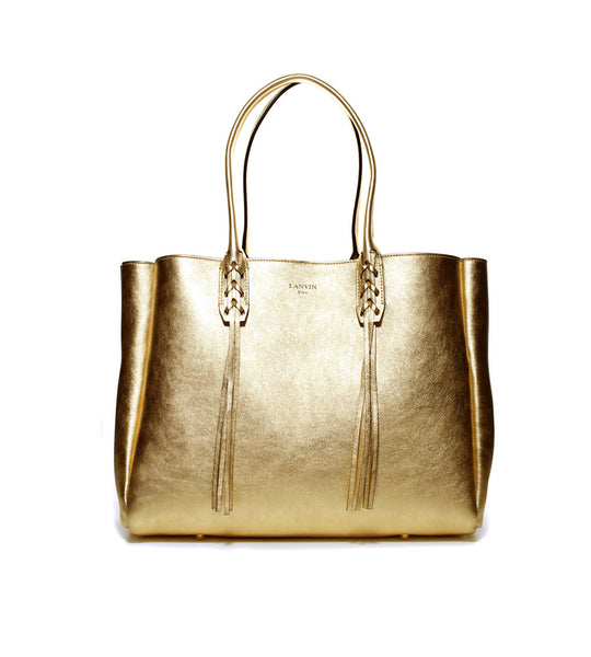 Small Shopper Bag Gold