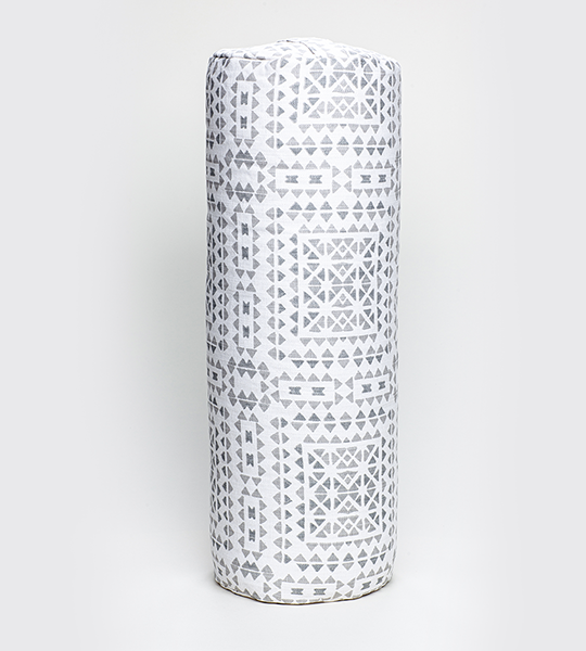 Cylindrical Yoga Bolster - Geometric Solstice