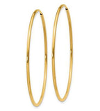 Endless 14K Gold Large Hoop Earrings