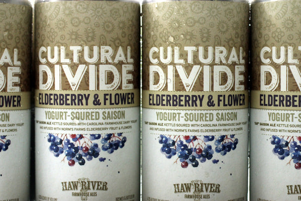 Haw River Farmhouse Ales Does Elderberry!