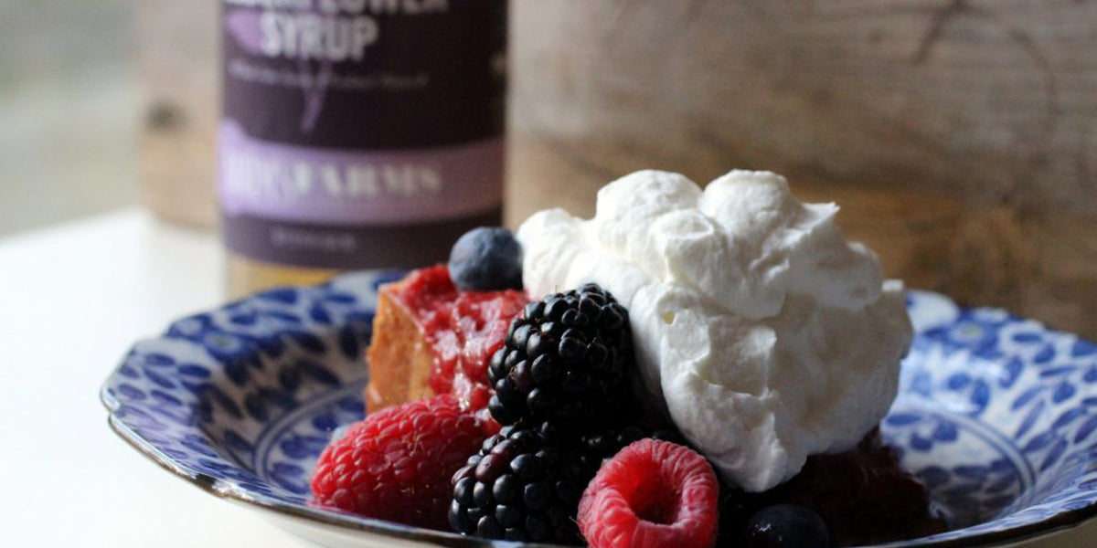 Elderflower Whipped Cream