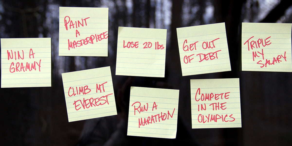 How to Create Success with New Year's Resolutions