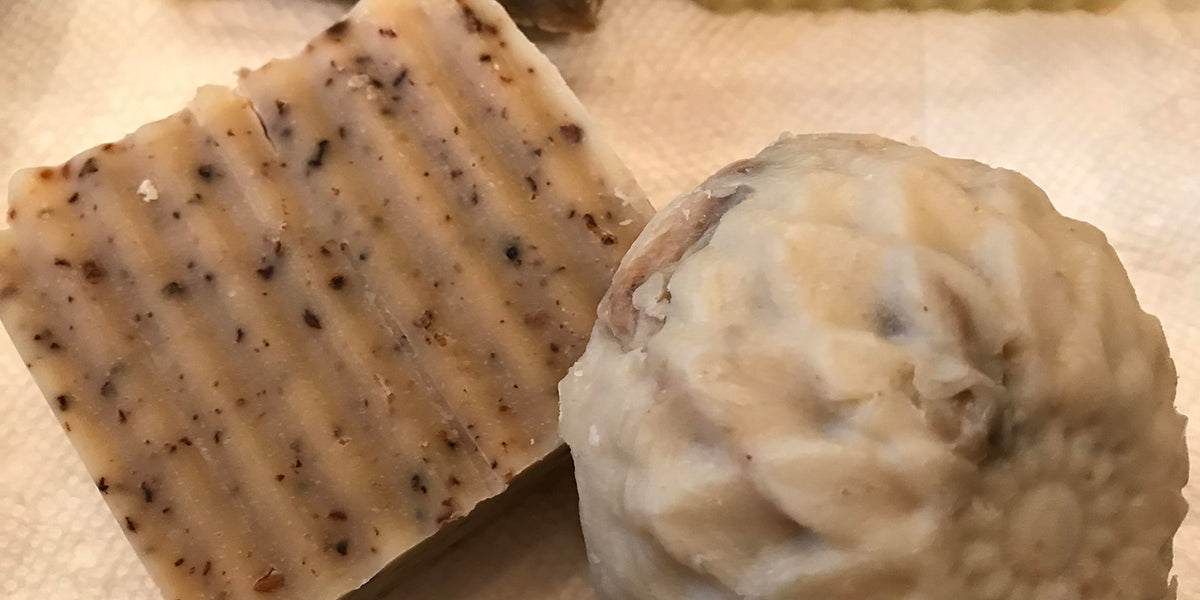 DIY Elderflower Soap
