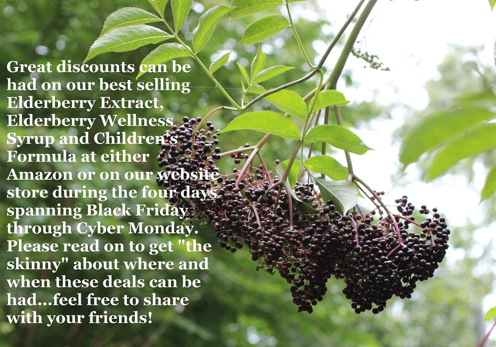 Norm's Farms Black Elderberry Supplements
