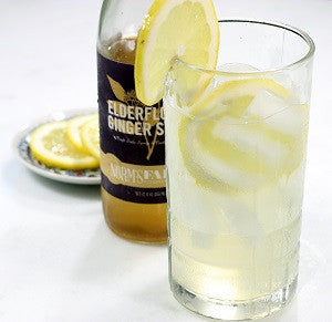 Elderflower Ginger Lemonade