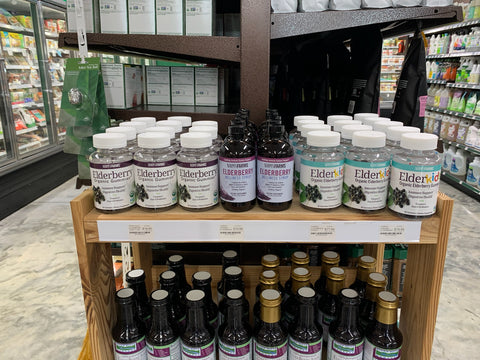 Norm's Farms Elderberry Supplements at Nature's Wonders in Branson, MO