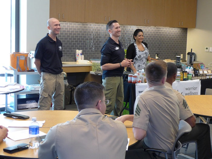 Warrior Wellness Solutions Functional Eating Class at Walter Reed