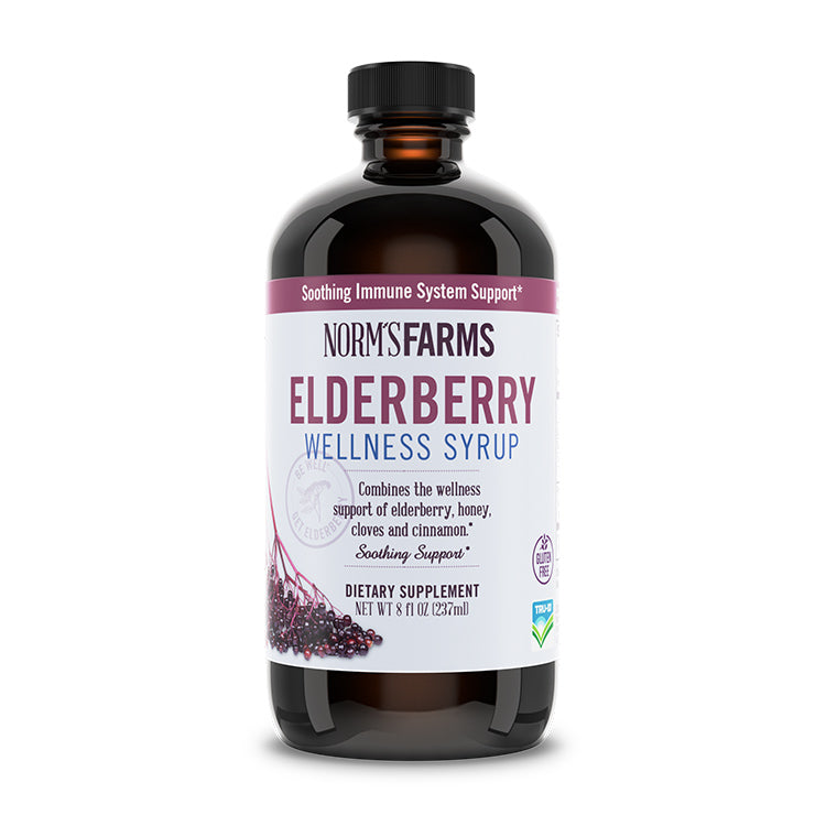 Elderberry Wellness Syrup  (8 oz.)
