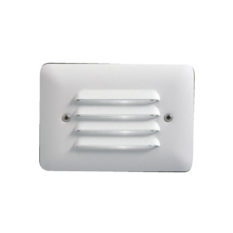 LED Louvered Mini Step - 15782WHT30R