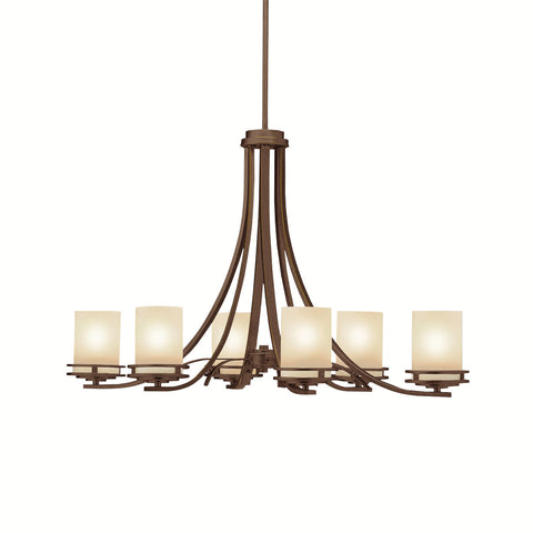 Hendrik - Oval Chandelier 6Lt - 1673OZ
