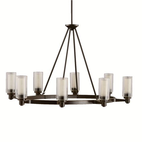 Circolo - Oval Chandelier 8Lt - 2345OZ