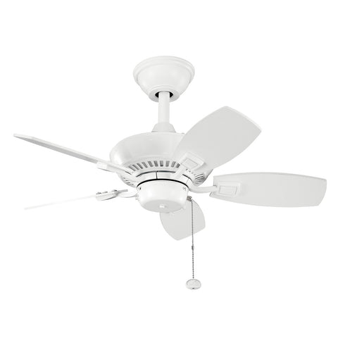 Canfield - 30 Inch Canfield Fan - 300103WH