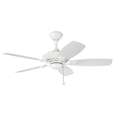 Canfield - 44 Inch Canfield Fan - 300107WH