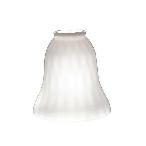 2 1/4 Inch Glass Shade WH Wate - 340012