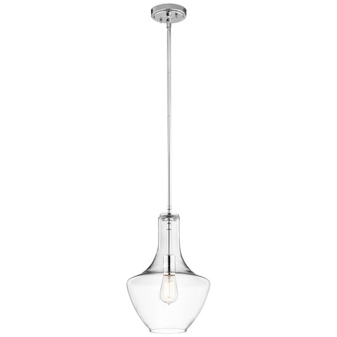 Everly - Pendant 1Lt - 42141CHCLR