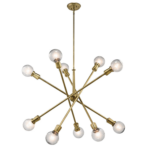 Armstrong - Chandelier 10Lt - 43119NBR