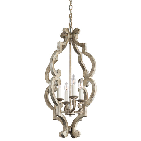 Hayman Bay - Large Foyer Pendant 4Lt - 43255DAW