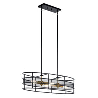 Piston - Oval Chandelier - 43595BK