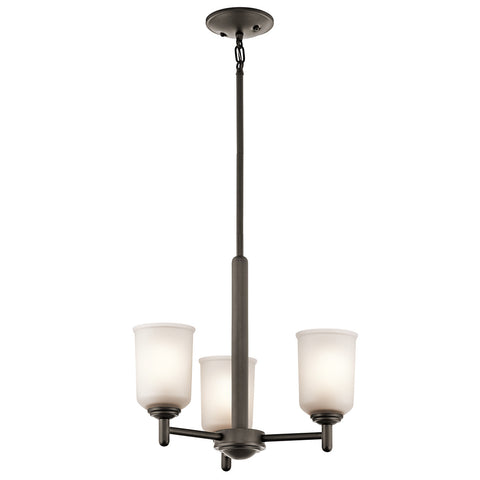 Shailene - Mini Chandelier 3Lt - 43670OZ