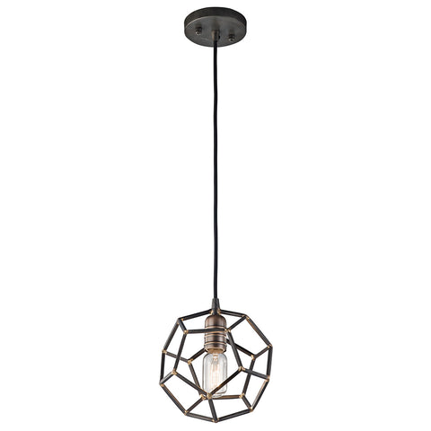 Rocklyn - Mini Pendant 1Lt - 43719RS