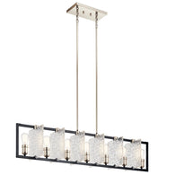 Forge - Linear Chandelier 7Lt - 43978BK