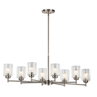 Winslow - Chandelier 8Lt - 44035NI