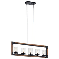 Marymount - Linear Chandelier 5Lt - 44043AUB