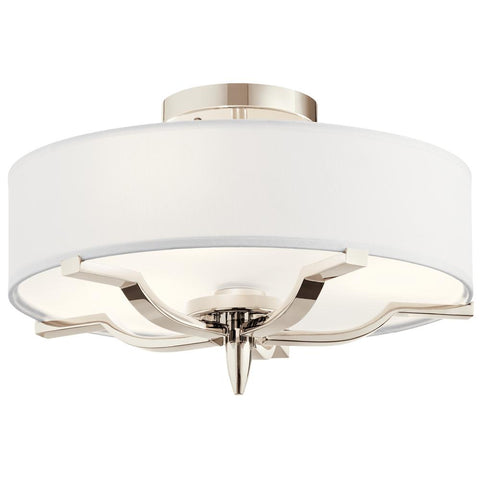 Kinsey - Flush Mount 3Lt - 44314PN