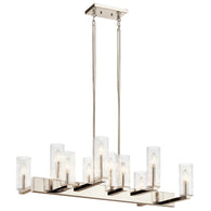 Cleara - Linear Chandelier 10Lt - 44316PN