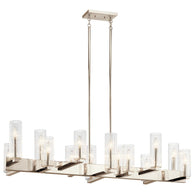 Cleara - Linear Chandelier 14Lt - 44317PN