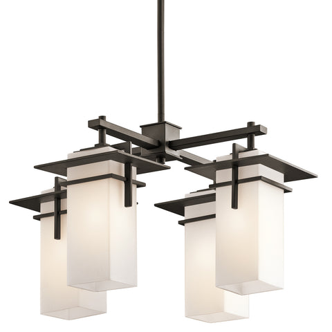 Caterham - Indoor/Outdoor Chandelier 4Lt - 49638OZ