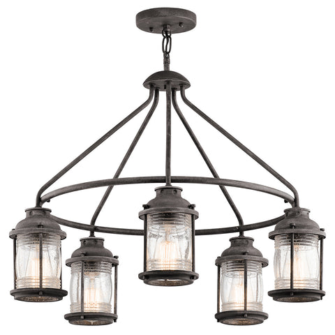 Ashland Bay - Outdoor Chandelier 5Lt - 49667WZC