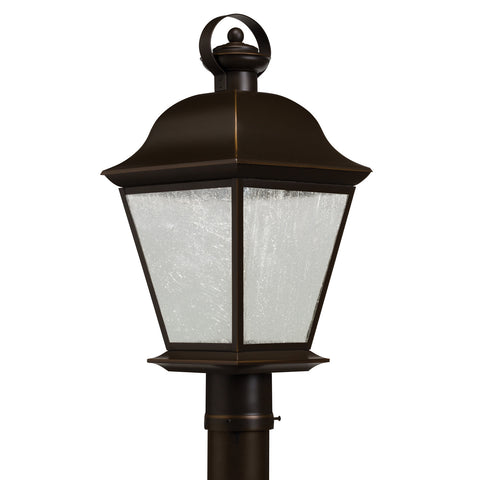 Mount Vernon - Outdoor Post Mt 1Lt LED - 9909OZLED