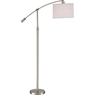 "Clift - Floor lamp brushed nickel 64""h - CFT9364BN"