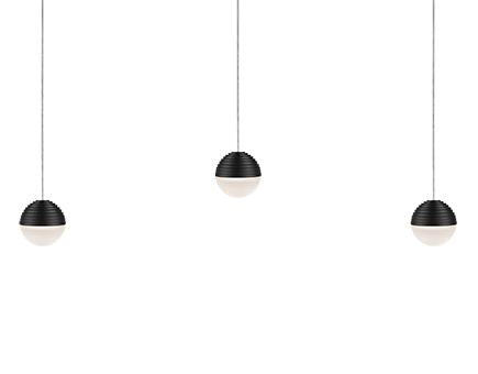 linear chandelier - LP10503-BK