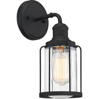 Ludlow - Wall 1 light earth black - LUD8605EK