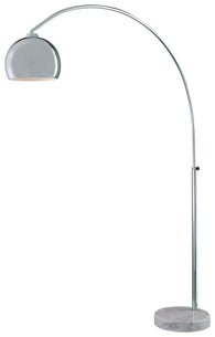 George's Reading Room - 1 LIGHT ARC FLOOR LAMP - P053-077