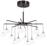 GEORGE'S WEB - LED CHANDELIER(CONVERTIBLE TO SEMI FLUSH) - P8238-671-L